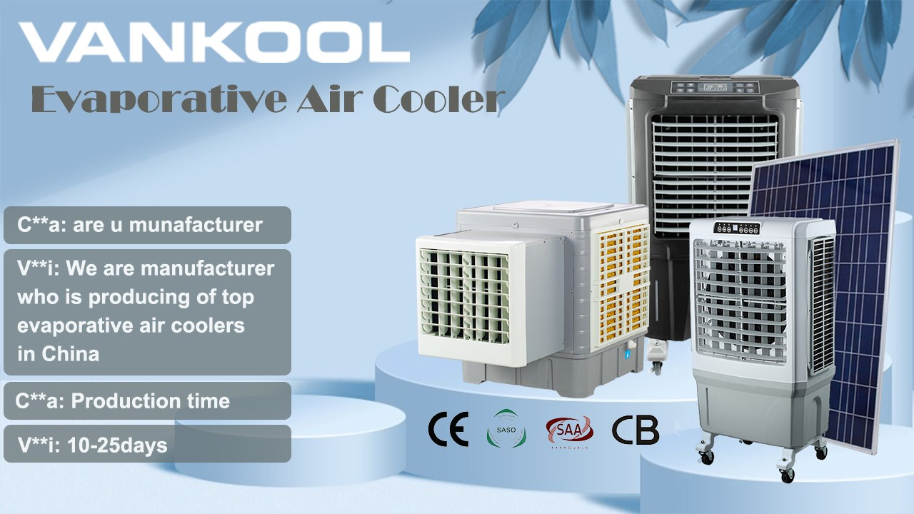 The benefits of using the best evaporative cooler from Vankool